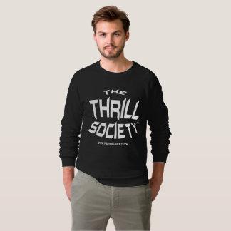 The Thrill Society Logo Squeezed Design Sweatshirt