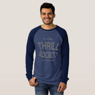 The Thrill Society Logo Squeezed Design T-Shirt