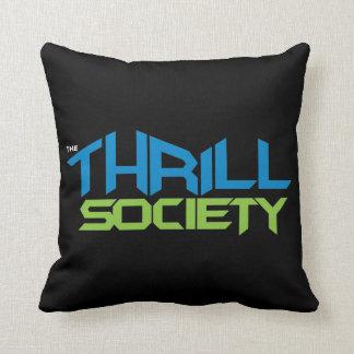 The Thrill Society Logo Throw Pillow