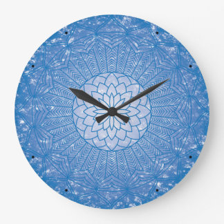 The Throat Chakra Large Clock