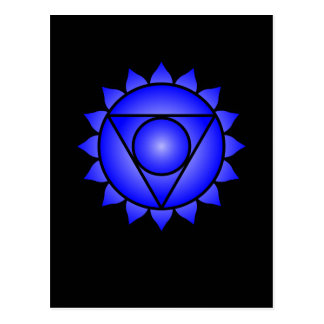 The Throat Chakra Postcard