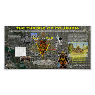 The Throne of Columbia Poster