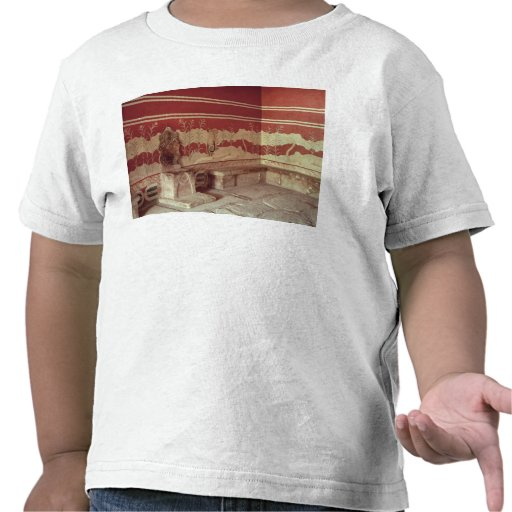 The Throne Room of Minos, 1500-1400 BC Shirts