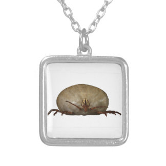 The Tick Square Pendant Necklace