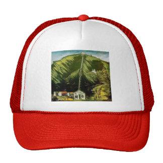 The Tiflis Funicular by Niko Pirosmani Mesh Hats