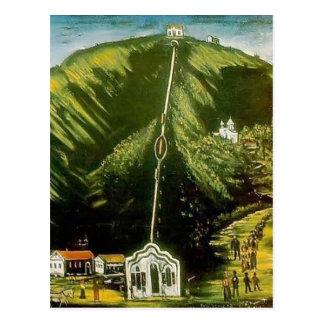 The Tiflis Funicular by Niko Pirosmani Postcard