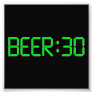 The Time Is Beer 30 Photo Art
