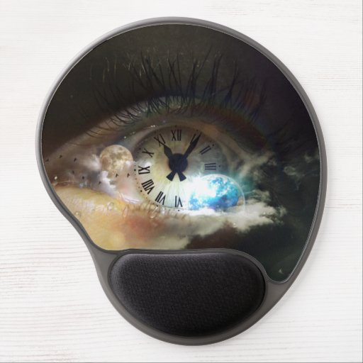 The Time is Now Gel Mouse Mat