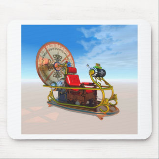 The Time Machine mouse pad