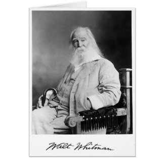 ❝The Time of a Man or Woman❞ Whitman Quote Card