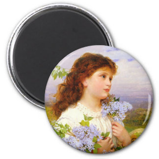 The Time of the Lilics Sophie Anderson Magnet