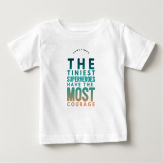 The tiniest Superhero Baby T-Shirt