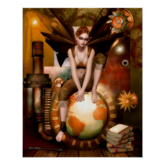 The Tinker Faerie Poster/Canvas Print