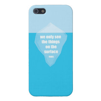 The tip of the Iceberg Quote iPhone 5/5S Case