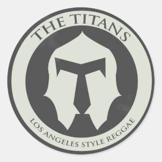 The Titans Logo Sticker