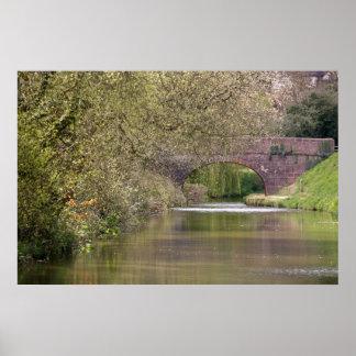 The Tiverton Canal, Devon Poster