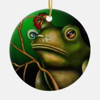 The Toad And The Snail II Christmas Tree Ornaments