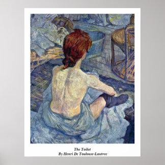 The Toilet, By Henri De Toulouse-Lautrec Poster