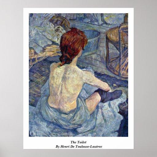 The Toilet, By Henri De Toulouse-Lautrec Posters