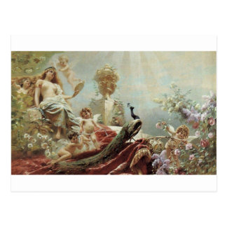 The Toilet of Venus by Konstantin Makovsky Postcard