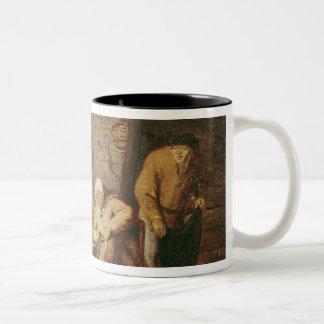 The Toilet Two-Tone Coffee Mug