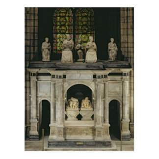 The Tomb of Francois I  and Claude of France Postcard