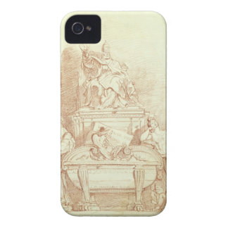 The Tomb of Pope Urban VIII (1568-1644) by Gianlor iPhone 4 Covers