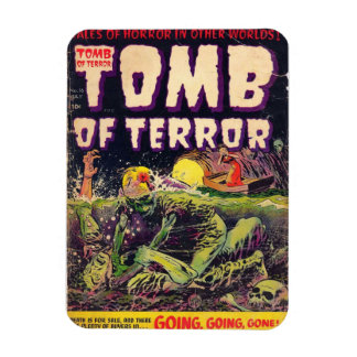 The Tomb of Terror Going Going Gone Magnet