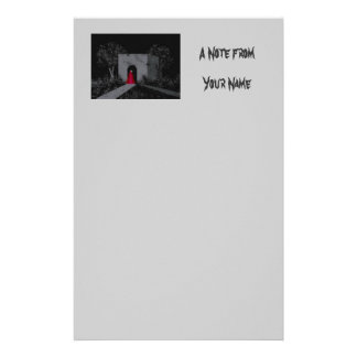 """""""The Tomb"""" Stationery"""
