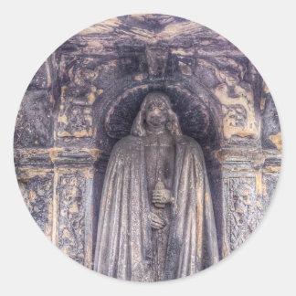 The Tomb Watchman Round Sticker