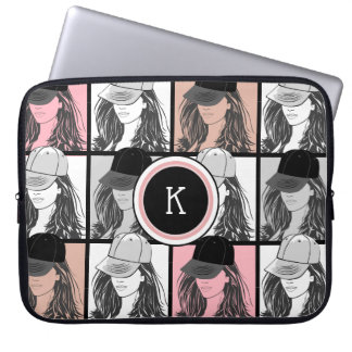 The Tomboy Colored Tiles Laptop Sleeve