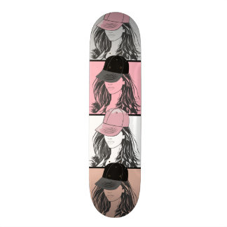 The Tomboy Colored Tiles Skate Boards