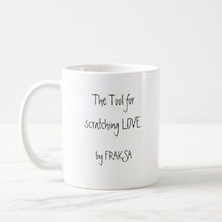 The tool magnet in order to hook love basic white mug