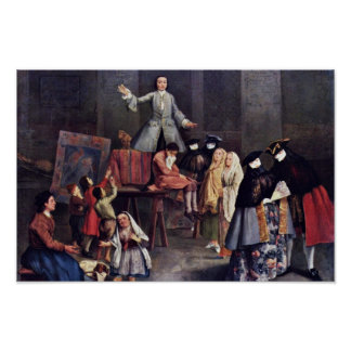 The Tooth-Puller By Longhi Pietro (Best Quality) Poster
