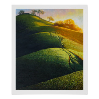 The top of Poly Canyon Poster