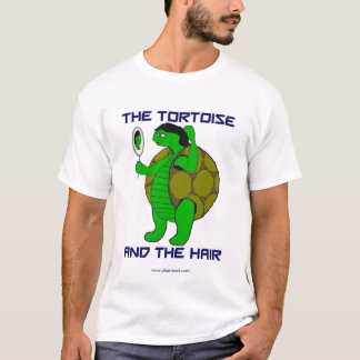 The Tortoise and the Hair Plus Size T-Shirt