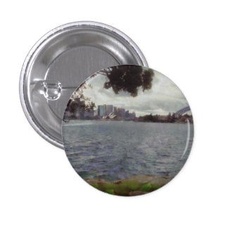 The tourist places of Sydney 3 Cm Round Badge