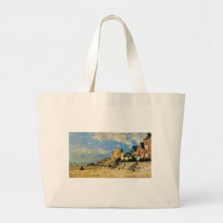 The Tower Malakoff and the Trouville Shore by Euge Jumbo Tote Bag