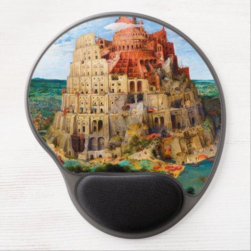 The Tower of Babel Pieter Bruegel the Elder art Gel Mouse Pads