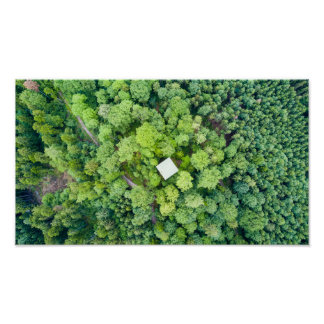 The tower | poster print aerial photograph