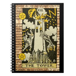 The Tower Tarot Card Notebook
