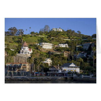 The town of Avalon on Catalina Island, Card