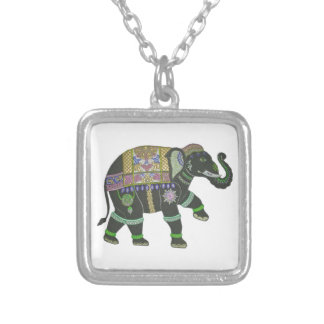 THE TRADITION BEGINS SILVER PLATED NECKLACE