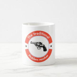 The traditional problem resolver coffee mug