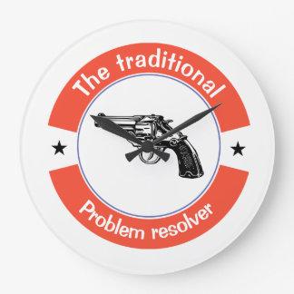 The traditional problem resolver large clock
