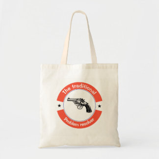 The traditional problem resolver tote bag