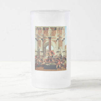 The Tragedy of Lucretia Frosted Glass Beer Mug