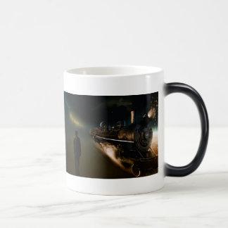 The train magic mug