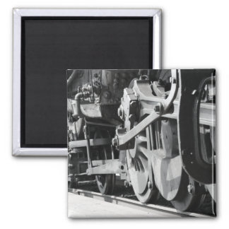 The Train Series Square Magnet