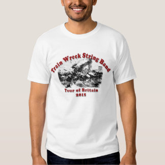 The Train Wreck String Band Shirt
